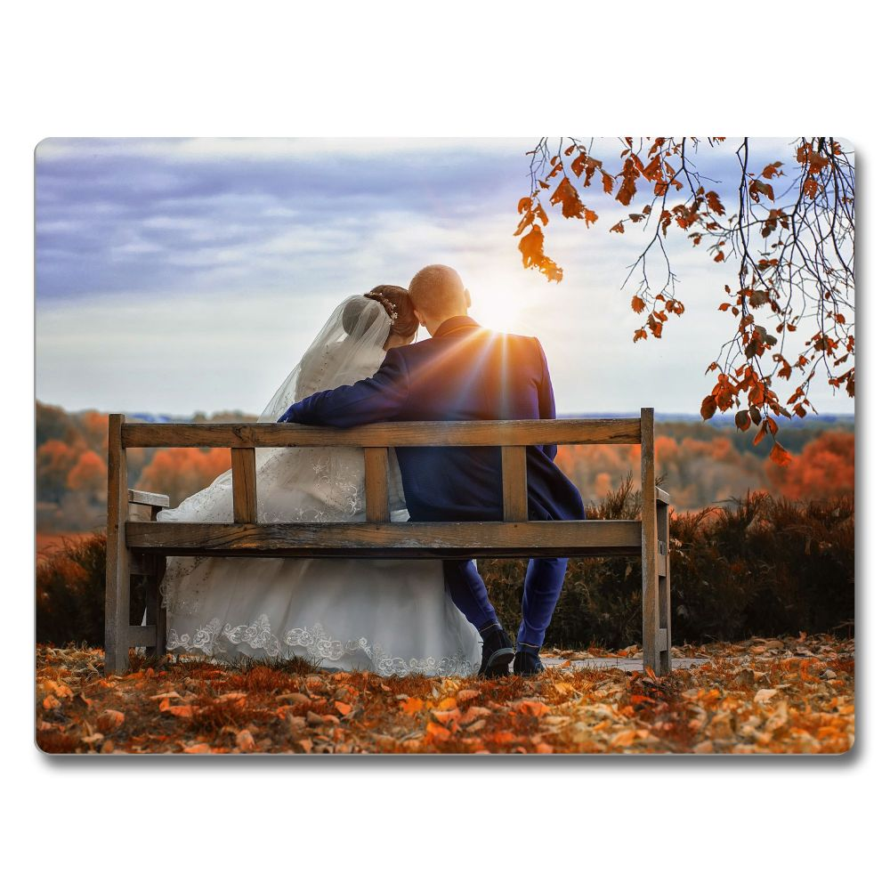 Personalised Wall Mounted Aluminium Photo Print HD Panel - Gloss